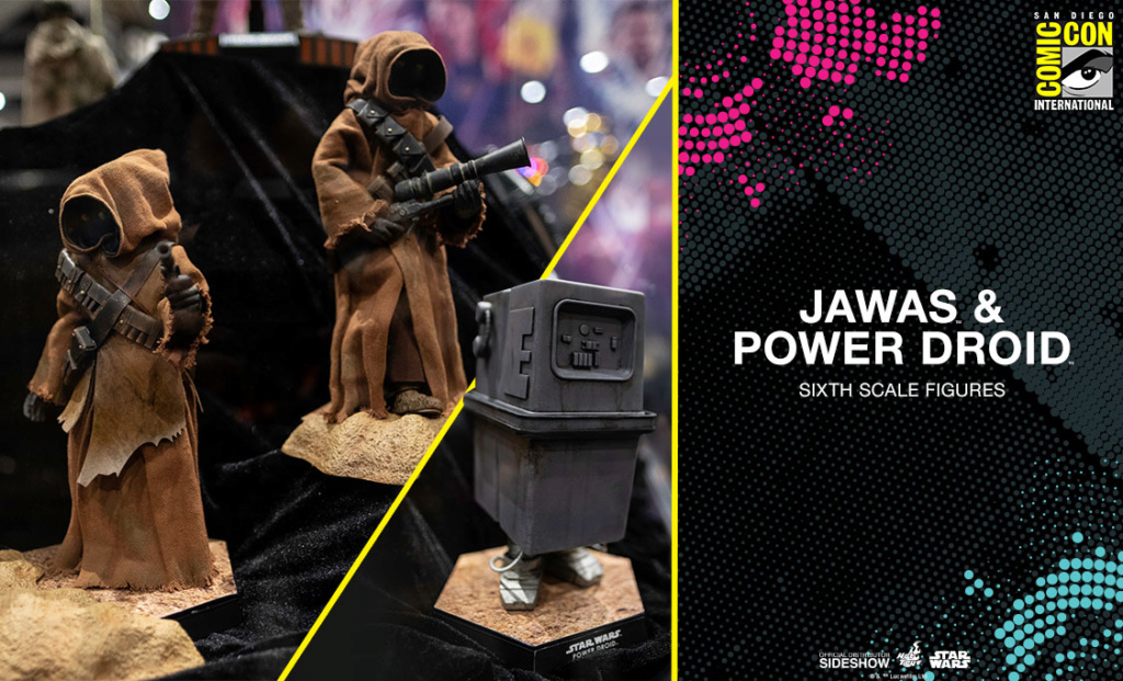 Jawas and Power Droid Sixth Scale Figures Hot Toys Star Wars Jawasa10