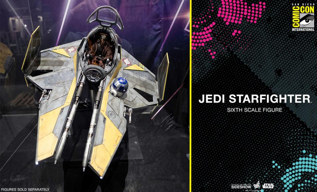 Jedi Starfighter Sixth Scale - Hot Toys Star Wars Jedist10