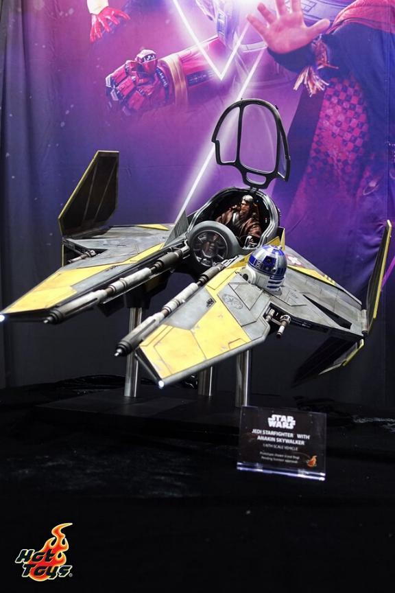 Jedi Starfighter Sixth Scale - Hot Toys Star Wars Jedist11
