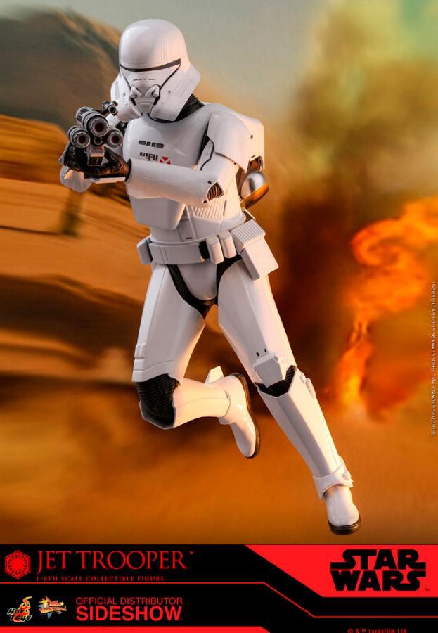 Star Wars Jet Trooper Sixth Scale Figure - Hot Toys Jet-tr10
