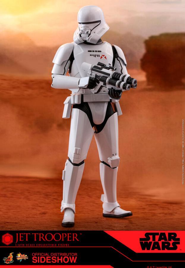 Star Wars Jet Trooper Sixth Scale Figure - Hot Toys Jet-tr12