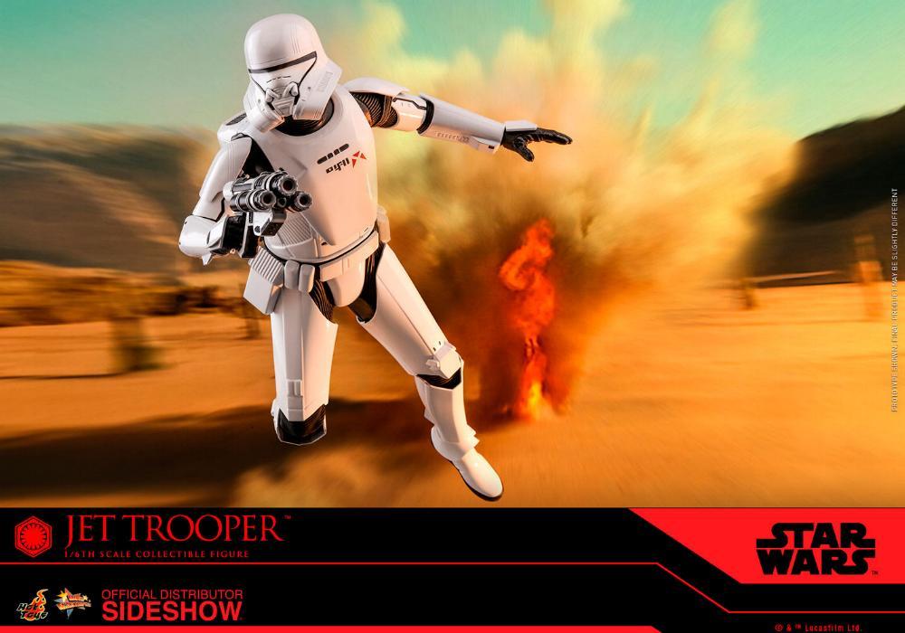 Star Wars Jet Trooper Sixth Scale Figure - Hot Toys Jet-tr16