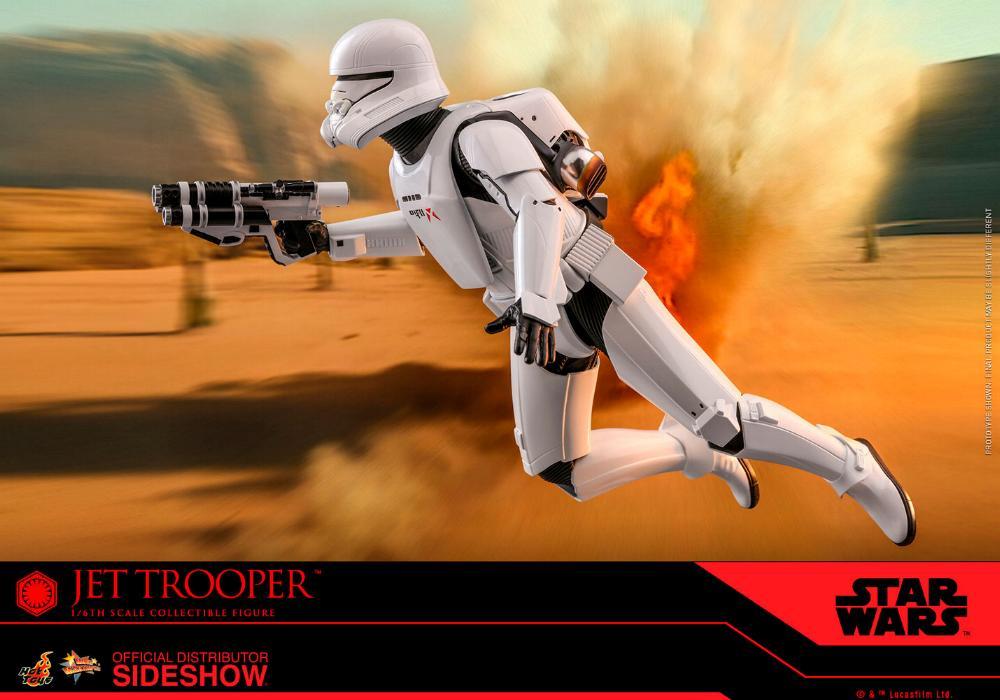 Star Wars Jet Trooper Sixth Scale Figure - Hot Toys Jet-tr17