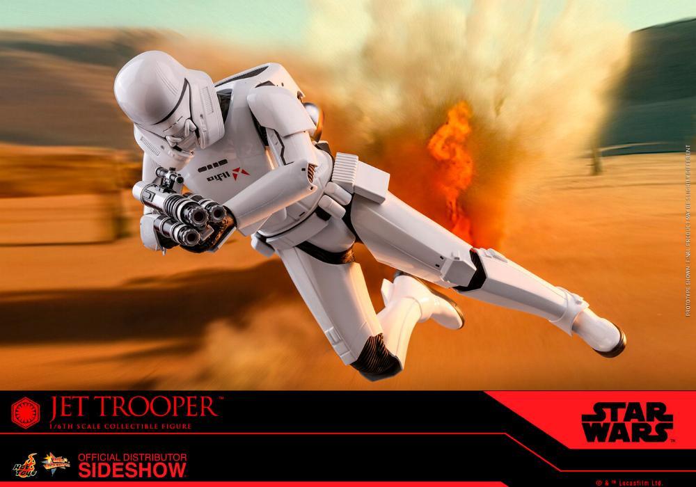 Star Wars Jet Trooper Sixth Scale Figure - Hot Toys Jet-tr18