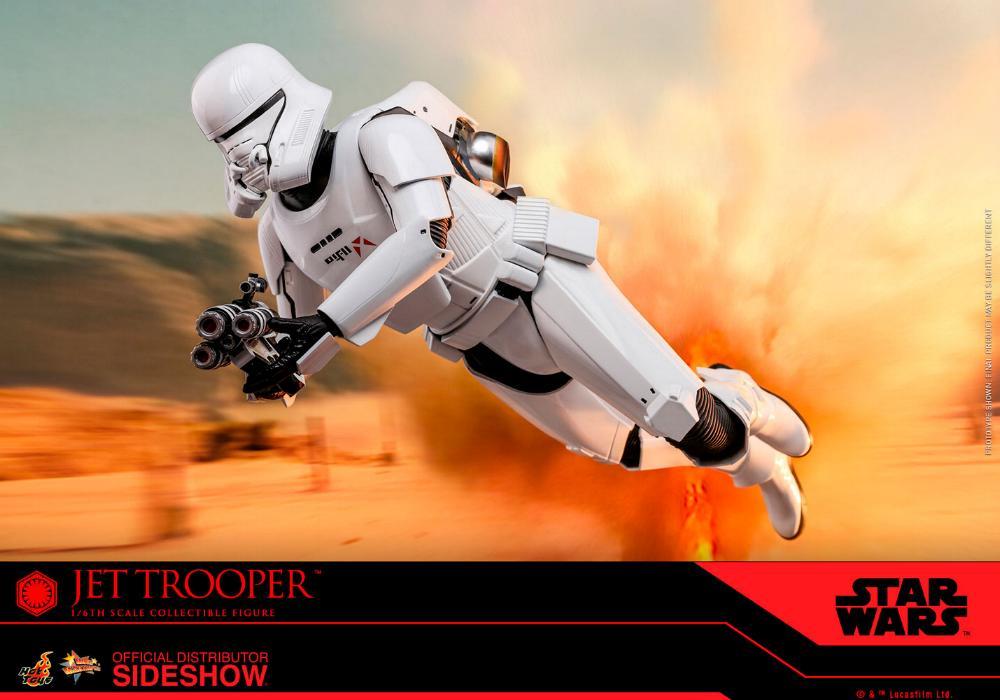 Star Wars Jet Trooper Sixth Scale Figure - Hot Toys Jet-tr19