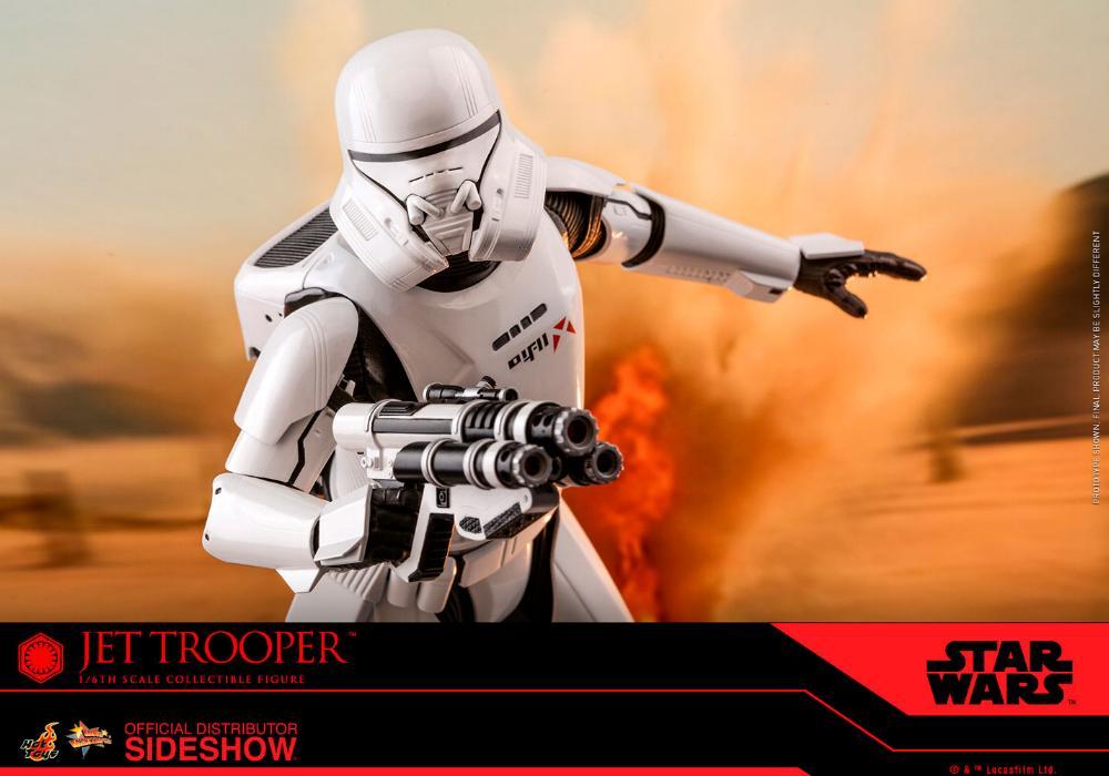 Star Wars Jet Trooper Sixth Scale Figure - Hot Toys Jet-tr20