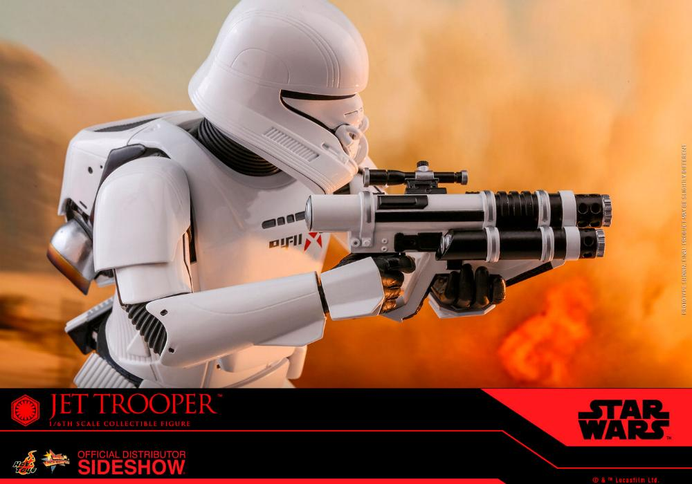 Star Wars Jet Trooper Sixth Scale Figure - Hot Toys Jet-tr21