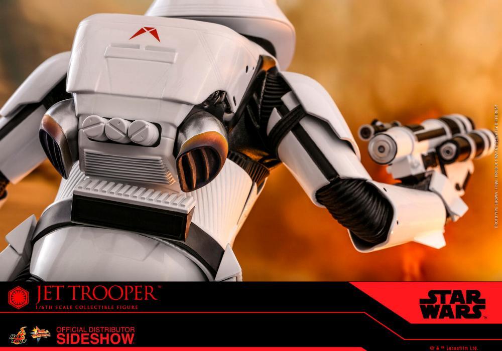 Star Wars Jet Trooper Sixth Scale Figure - Hot Toys Jet-tr22