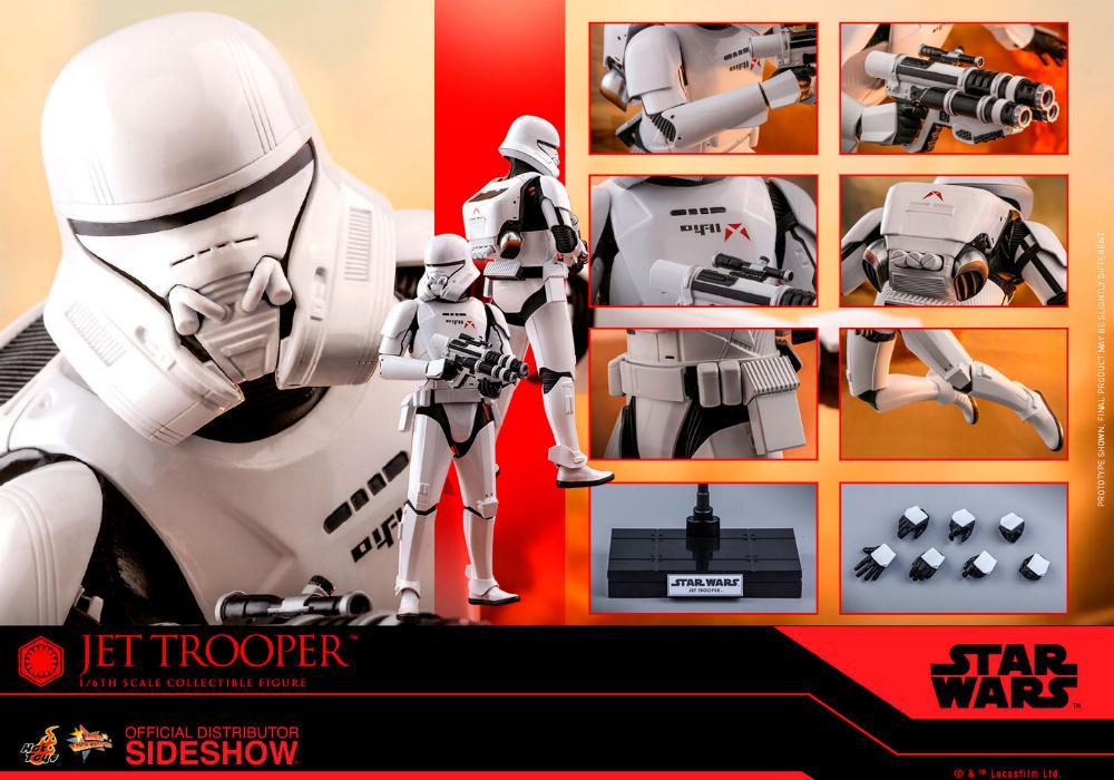 Star Wars Jet Trooper Sixth Scale Figure - Hot Toys Jet-tr24