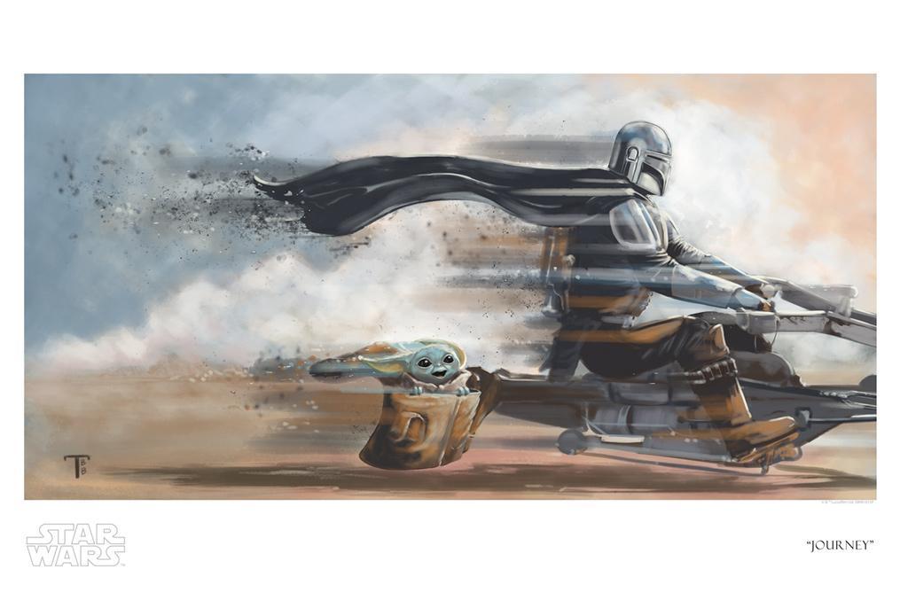 Journey - Artwork Star Wars - ACME Archives Journe22