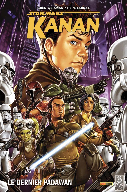 KANAN : LE DERNIER PADAWAN - PANINI - Star Wars Kanan_10