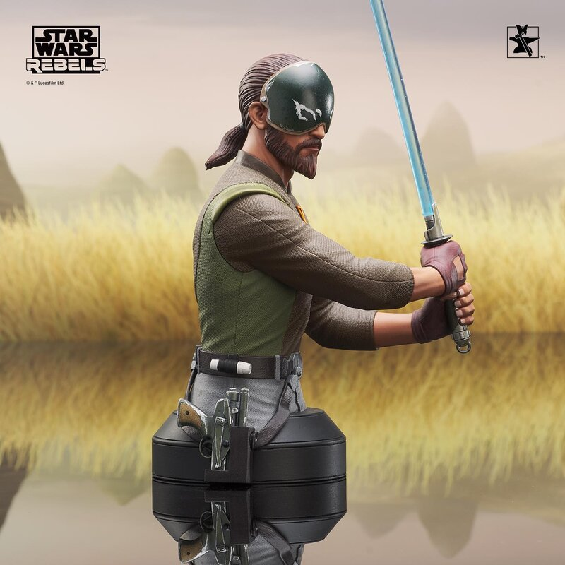 Kanan Mini Bust Star Wars Rebels - Gentle Giant / DST  Kanan_11