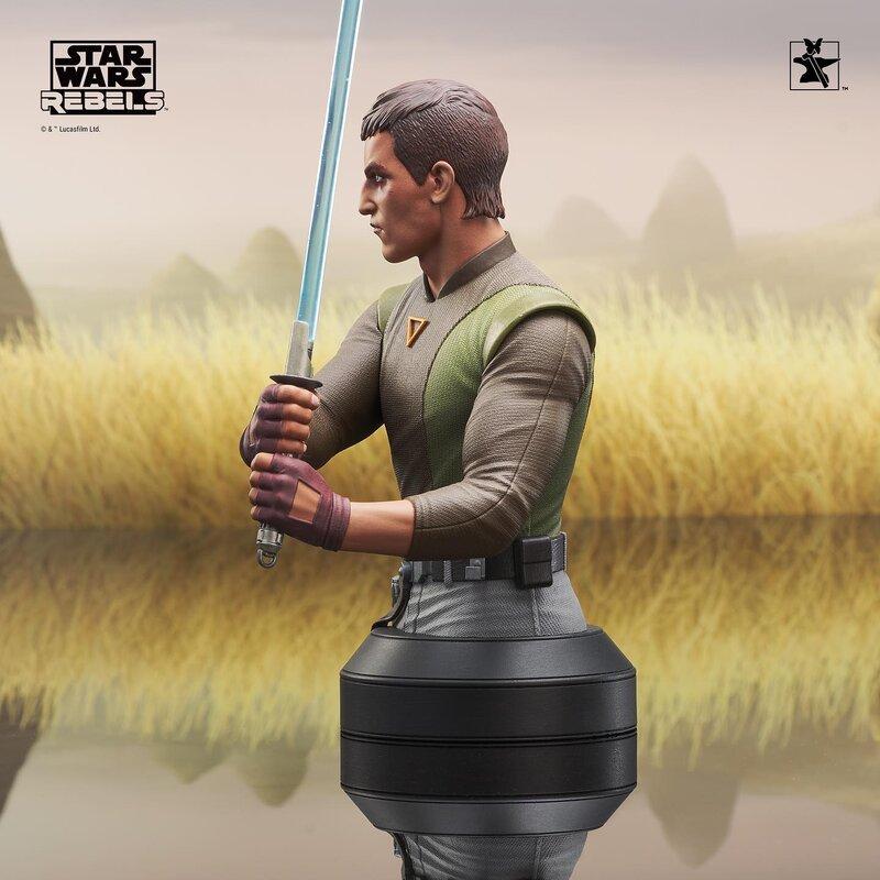 Kanan Mini Bust Star Wars Rebels - Gentle Giant / DST  Kanan_12
