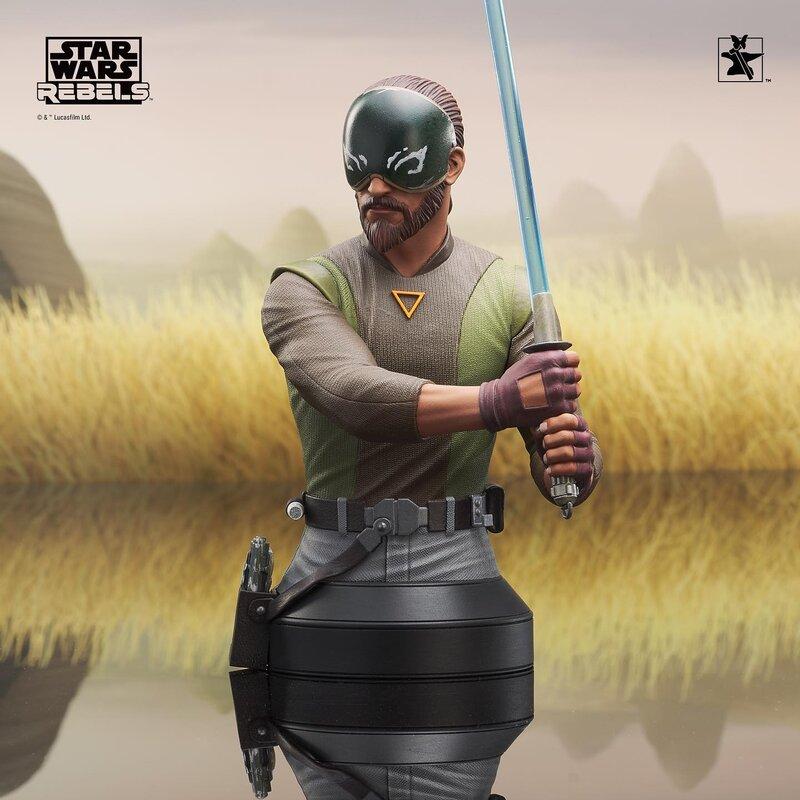 Kanan Mini Bust Star Wars Rebels - Gentle Giant / DST  Kanan_14