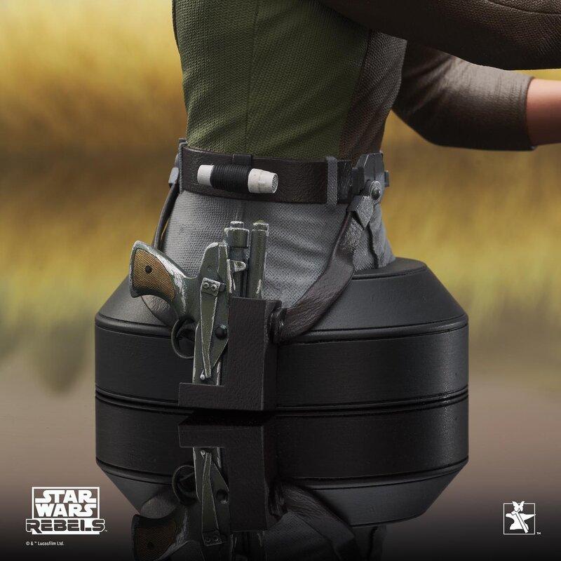Kanan Mini Bust Star Wars Rebels - Gentle Giant / DST  Kanan_16