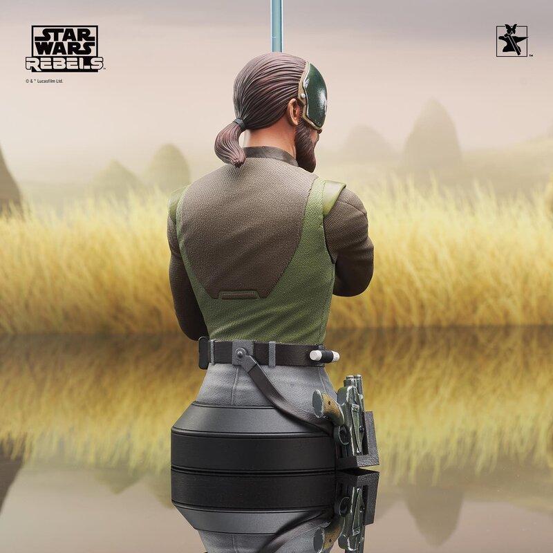 Kanan Mini Bust Star Wars Rebels - Gentle Giant / DST  Kanan_17