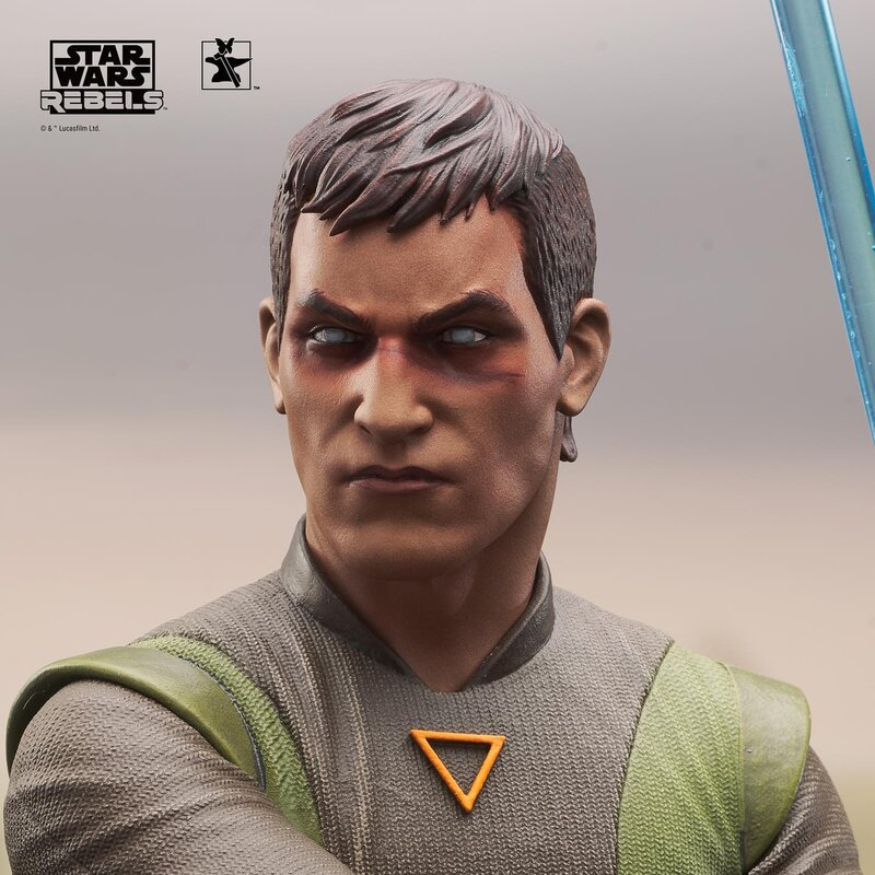 Kanan Mini Bust Star Wars Rebels - Gentle Giant / DST  Kanan_18