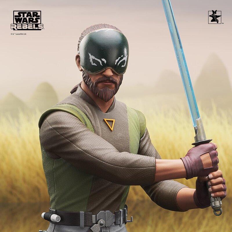 Kanan Mini Bust Star Wars Rebels - Gentle Giant / DST  Kanan_19