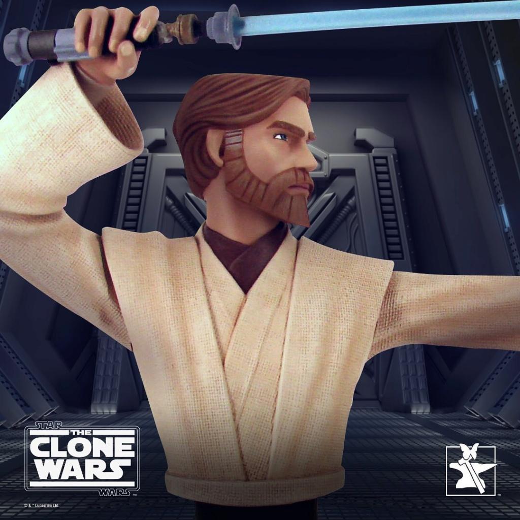 Star Wars Obi Wan Kenobi Bust - 1:7 Scale - Gentle Giant Kenobi11