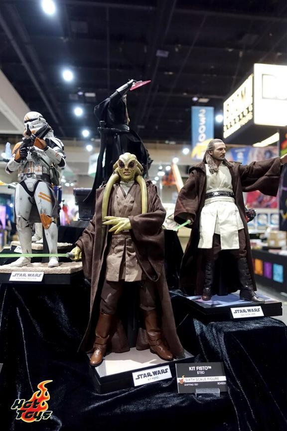 Kit Fisto Sixth Scale Figure - Hot Toys Star Wars Kitfis10