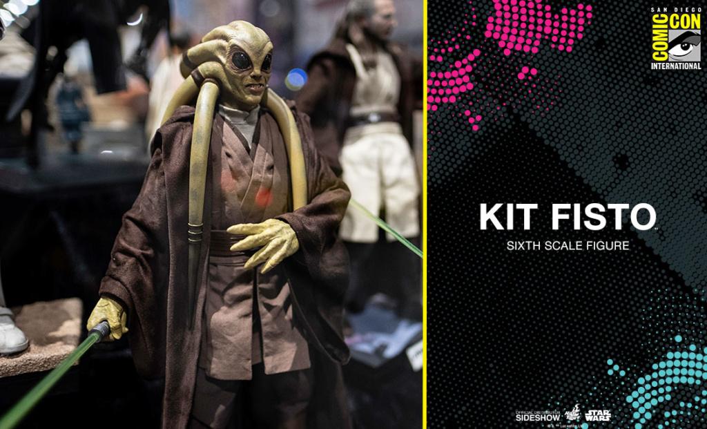 Kit Fisto Sixth Scale Figure - Hot Toys Star Wars Kitfis11