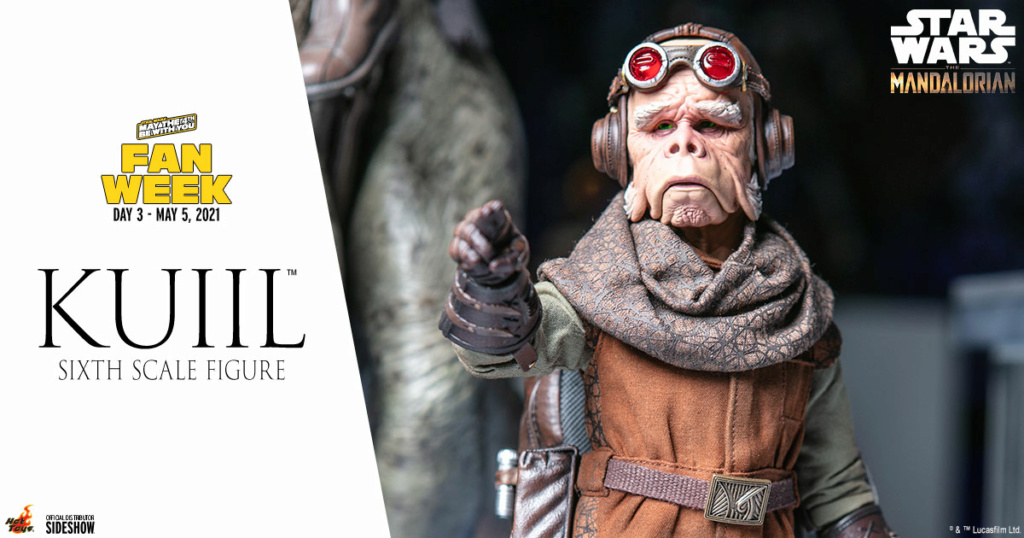 Kuiil Sixth Scale Figure – Hot Toys Kuiil_10