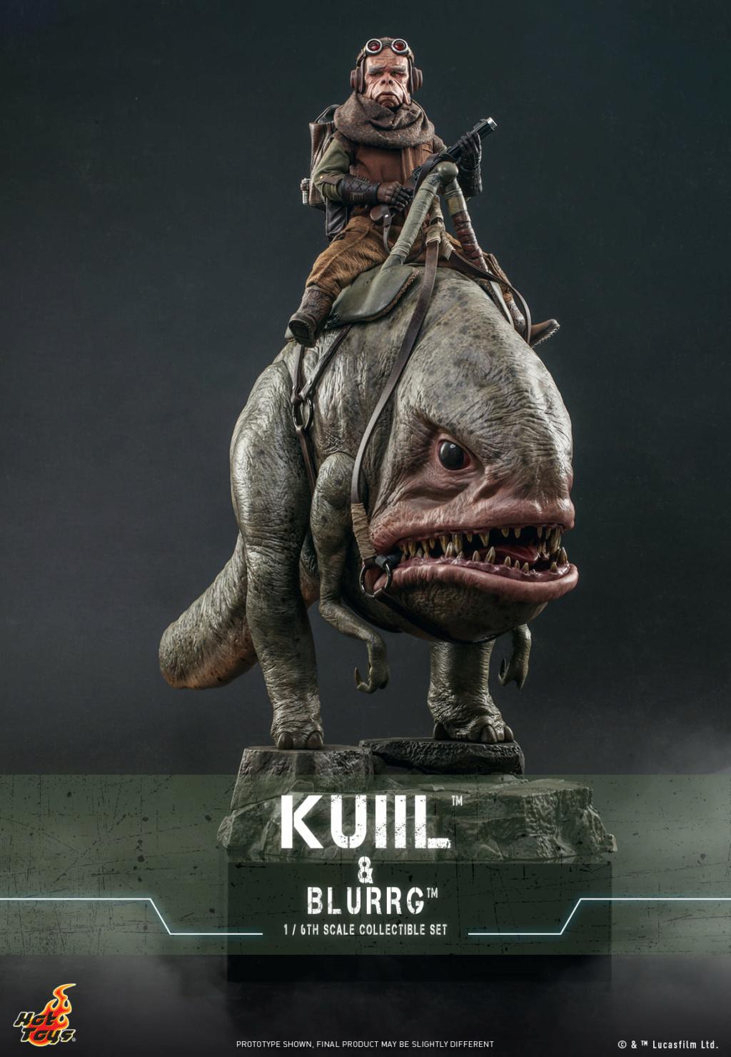 Kuiil & Blurrg Collectible Set - Star Wars - Hot Toys Kuiil_26