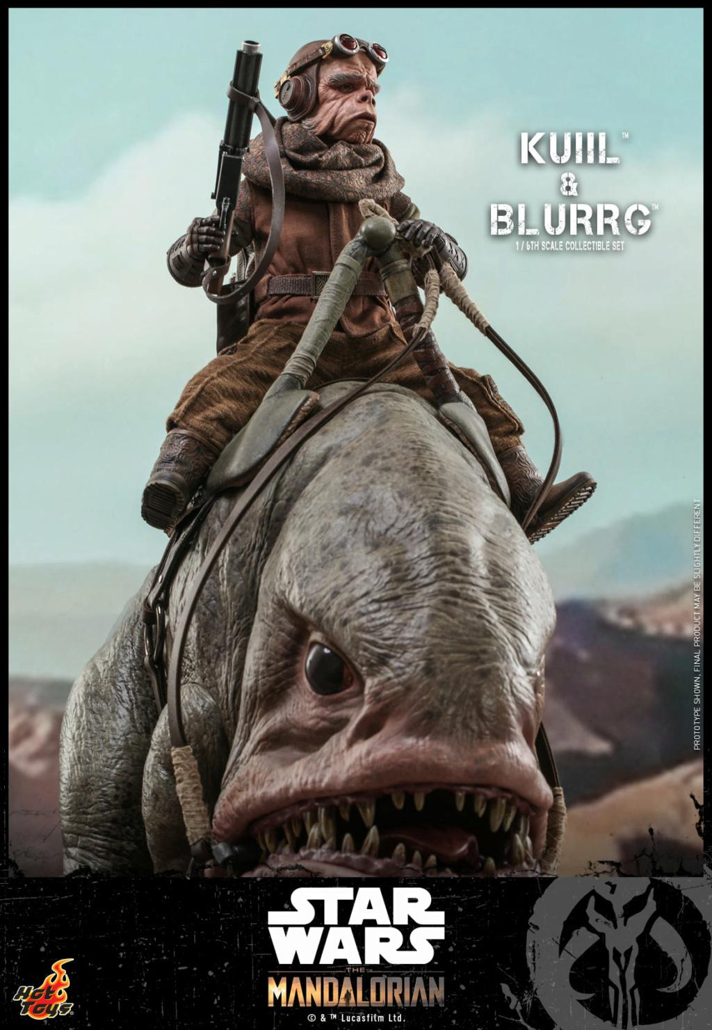 Kuiil & Blurrg Collectible Set - Star Wars - Hot Toys Kuiil_35