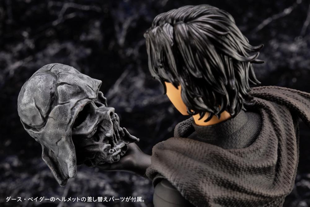 Kylo Ren Cloaked In Shadows - 1/7 ARTFX Artist - Kotobukiya Kylo_a23