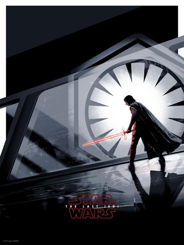 Star Wars: The Last Jedi - Rey & Kylo Ren by Matt Ferguson Kylo_r10