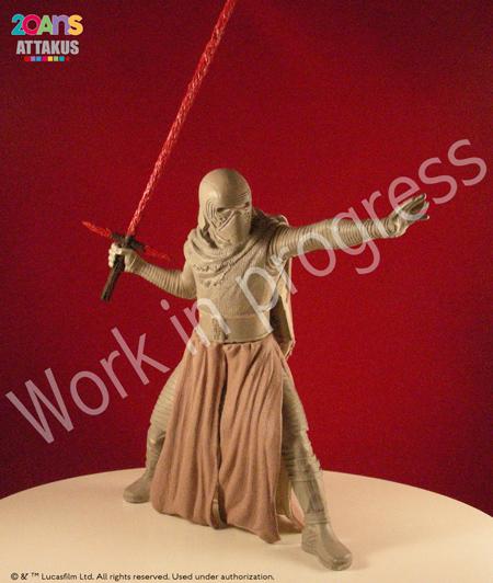 Kylo Ren Elite Séries Statue - ATTAKUS Kylo_r12