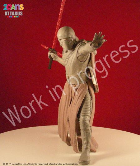 Kylo Ren Elite Séries Statue - ATTAKUS Kylo_r13