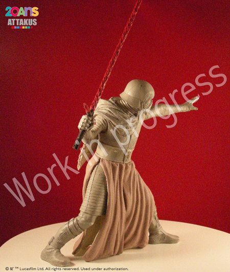Kylo Ren Elite Séries Statue - ATTAKUS Kylo_r14