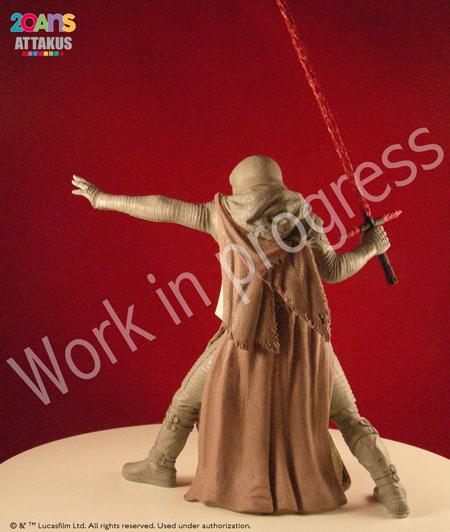 Kylo Ren Elite Séries Statue - ATTAKUS Kylo_r15