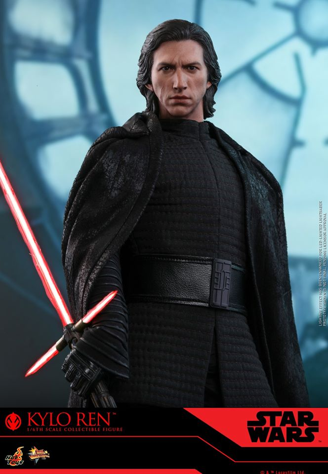 Star Wars Kylo Ren 1/6th Collectible Figure - Hot Toys Kylo_r17
