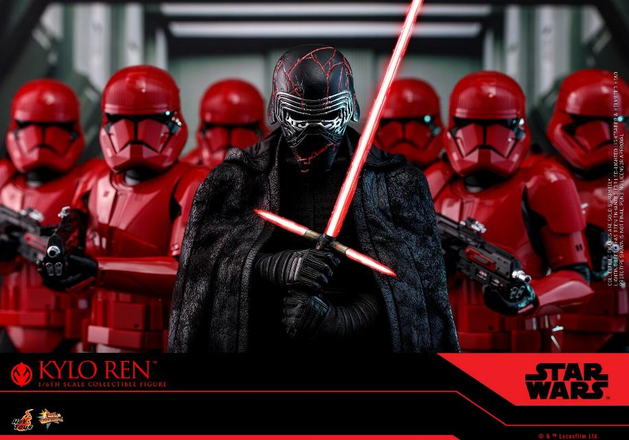 Star Wars Kylo Ren 1/6th Collectible Figure - Hot Toys Kylo_r18