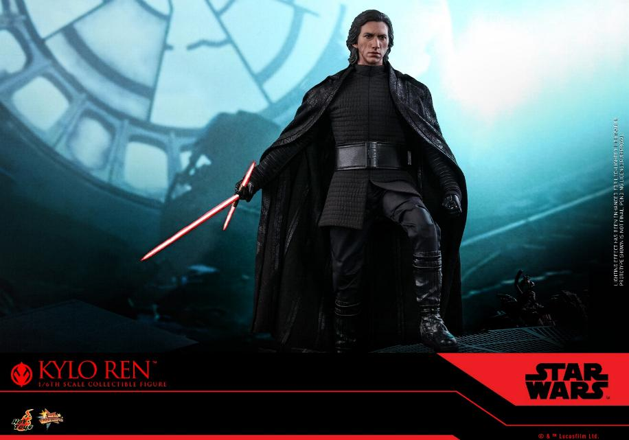 Star Wars Kylo Ren 1/6th Collectible Figure - Hot Toys Kylo_r20
