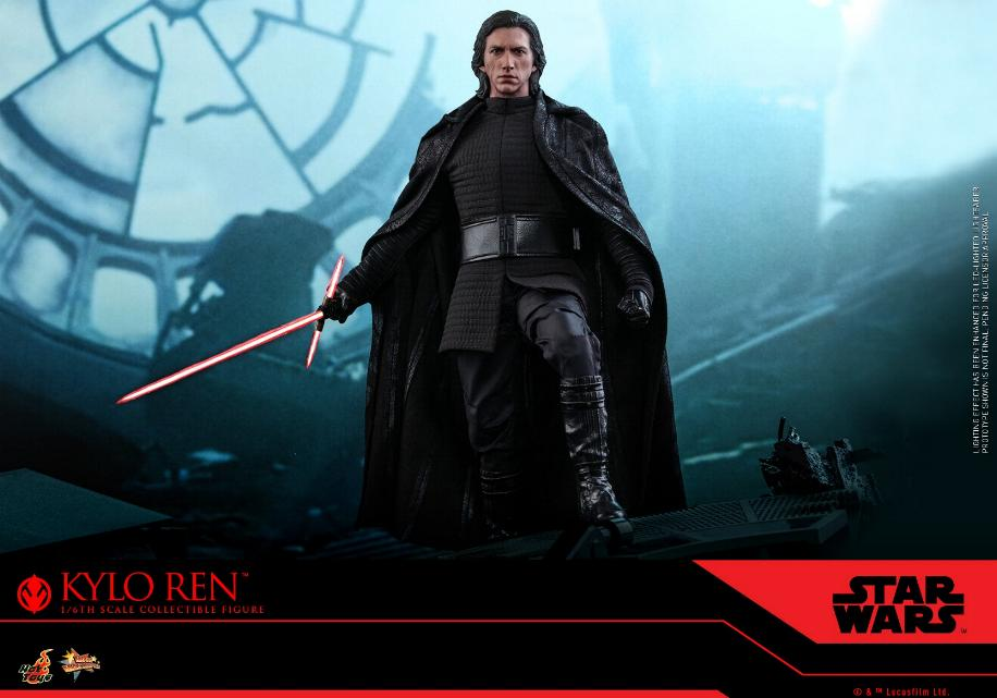 Star Wars Kylo Ren 1/6th Collectible Figure - Hot Toys Kylo_r24