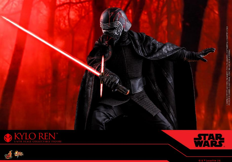 Star Wars Kylo Ren 1/6th Collectible Figure - Hot Toys Kylo_r26