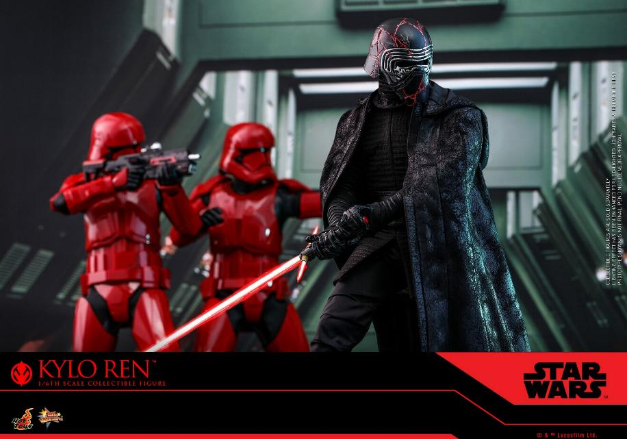 Star Wars Kylo Ren 1/6th Collectible Figure - Hot Toys Kylo_r28