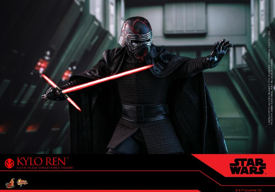 Star Wars Kylo Ren 1/6th Collectible Figure - Hot Toys Kylo_r29