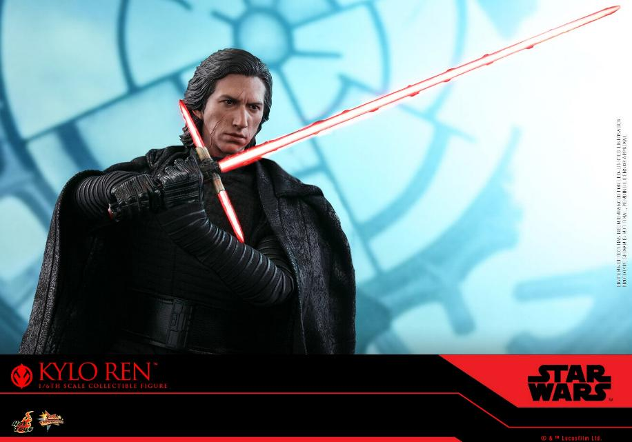 Star Wars Kylo Ren 1/6th Collectible Figure - Hot Toys Kylo_r31