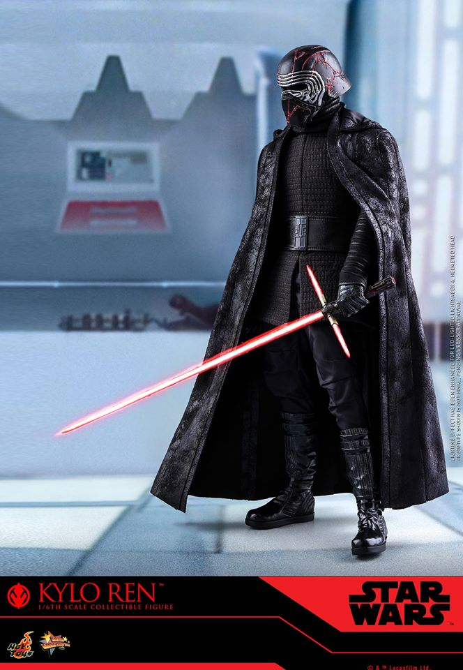 Star Wars Kylo Ren 1/6th Collectible Figure - Hot Toys Kylo_r32
