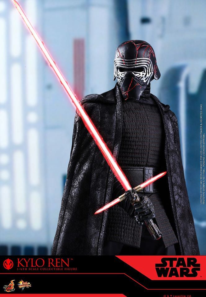 Star Wars Kylo Ren 1/6th Collectible Figure - Hot Toys Kylo_r33