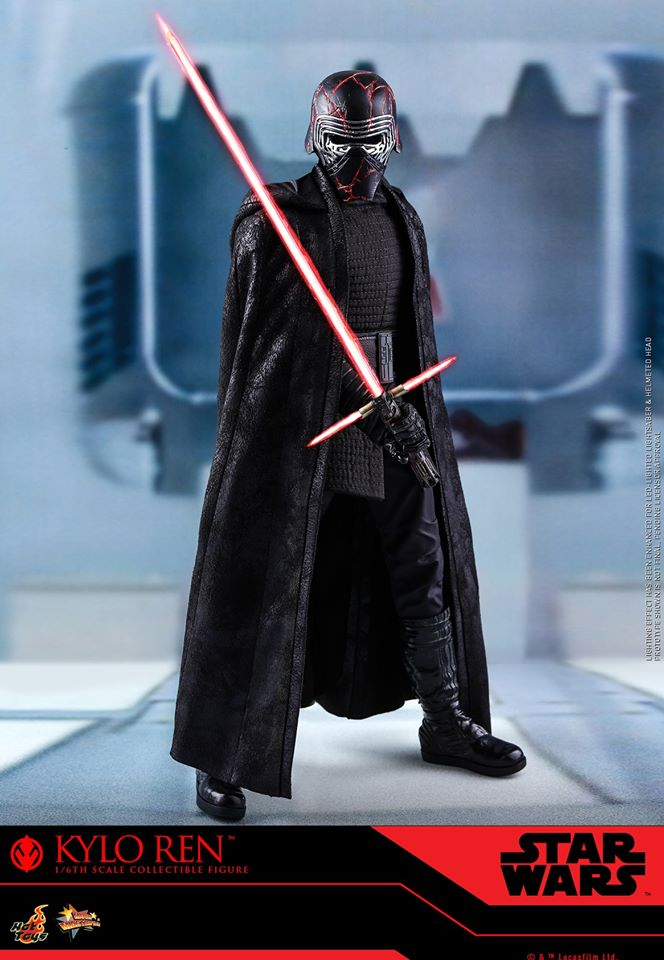 Star Wars Kylo Ren 1/6th Collectible Figure - Hot Toys Kylo_r34