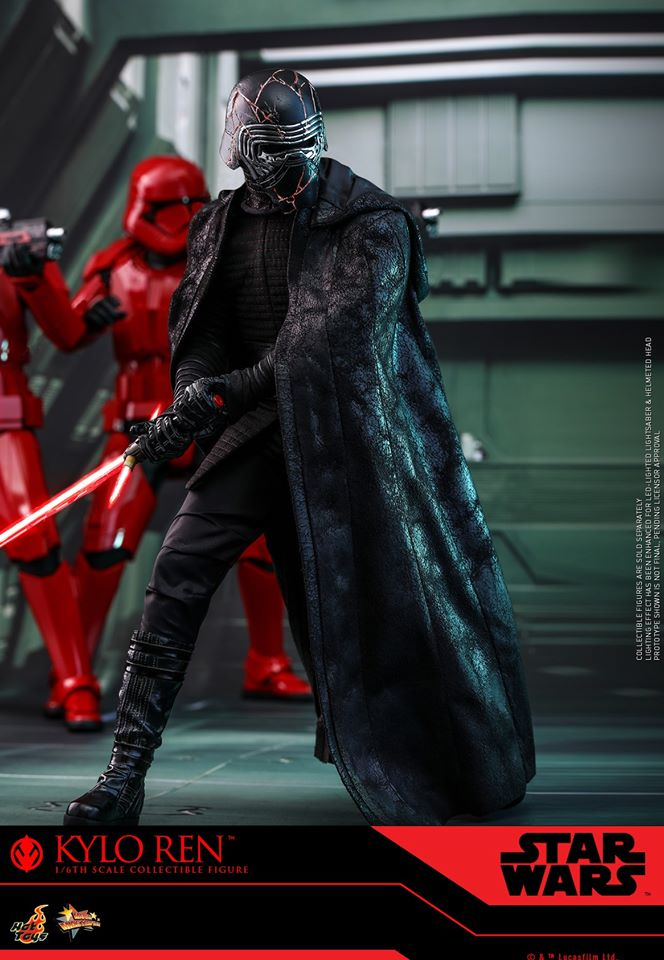 Star Wars Kylo Ren 1/6th Collectible Figure - Hot Toys Kylo_r35
