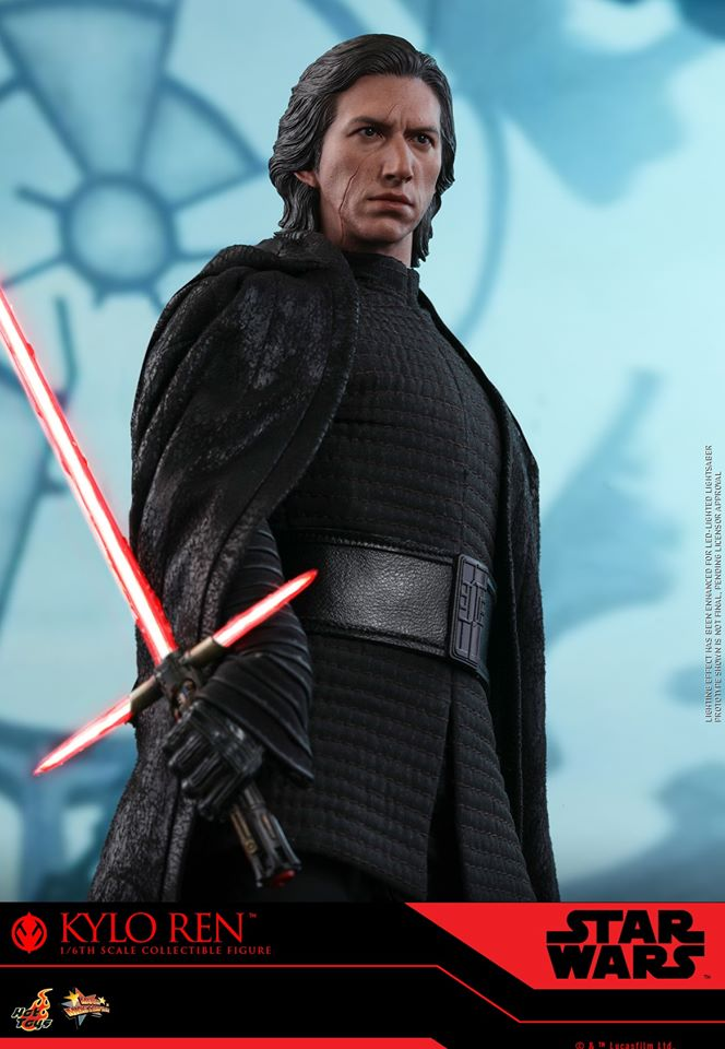 Star Wars Kylo Ren 1/6th Collectible Figure - Hot Toys Kylo_r37