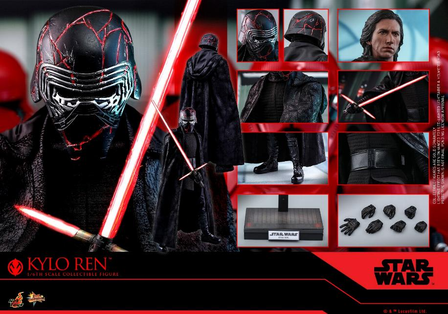 Star Wars Kylo Ren 1/6th Collectible Figure - Hot Toys Kylo_r38