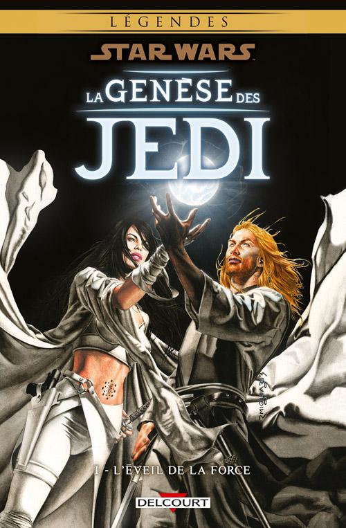 Intégrale Star Wars La Genèse des Jedi - DELCOURT La_gen10