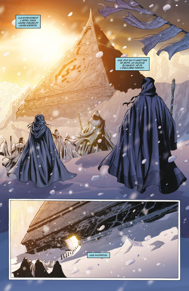 Intégrale Star Wars La Genèse des Jedi - DELCOURT La_gen12